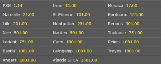 french ligue 1 odds