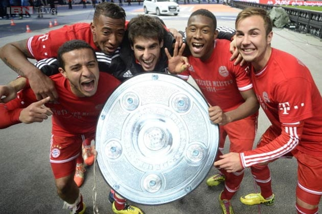Bundesliga Outright Betting 2015/16