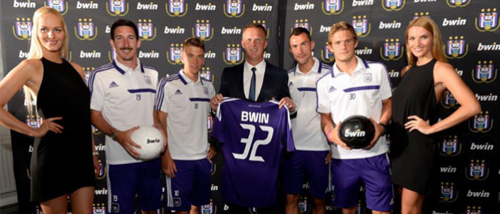 Bwin signs sponsorship deal with Anderlecht