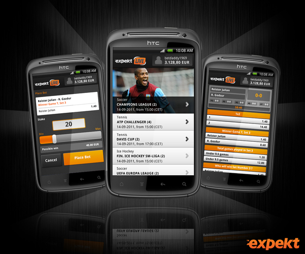 Expekt Mobile Betting
