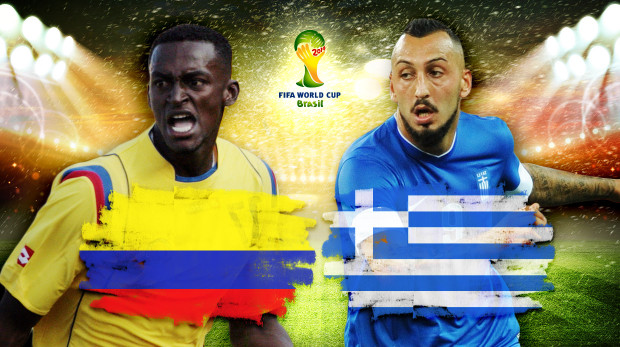 Colombia-Greece preview - World Cup 2014