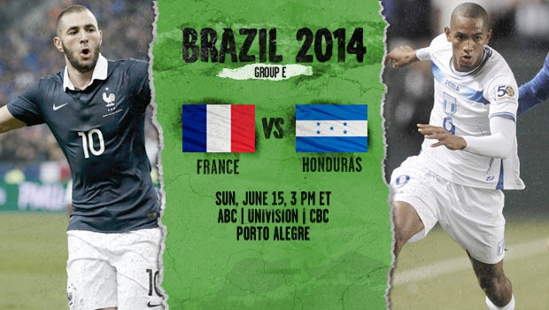 France-Honduras preview - World Cup 2014