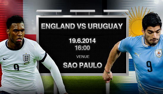 Uruguay-England preview - World Cup 2014