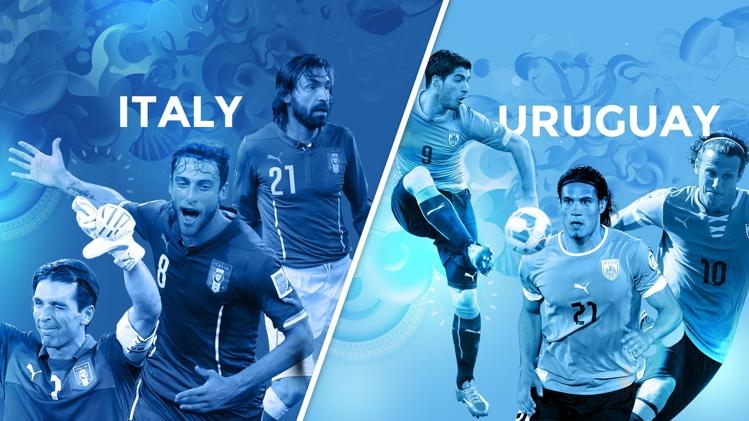 Italy-Uruguay preview - World Cup 2014