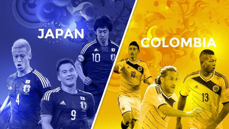 Japan-Colombia preview - World Cup 2014