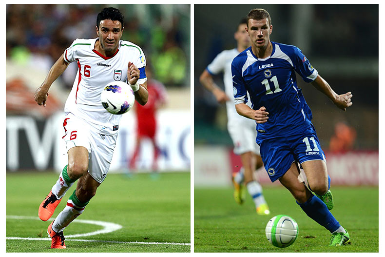 Bosnia-Herzegovina-Iran preview - World Cup 2014