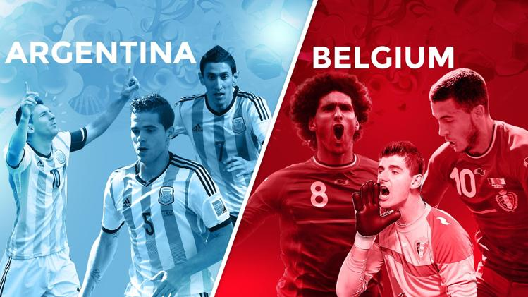 Argentina-Belgium preview - World Cup 2014