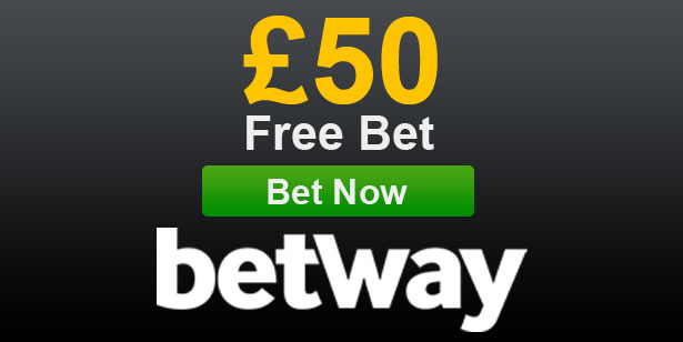Betway £50 free bet offer