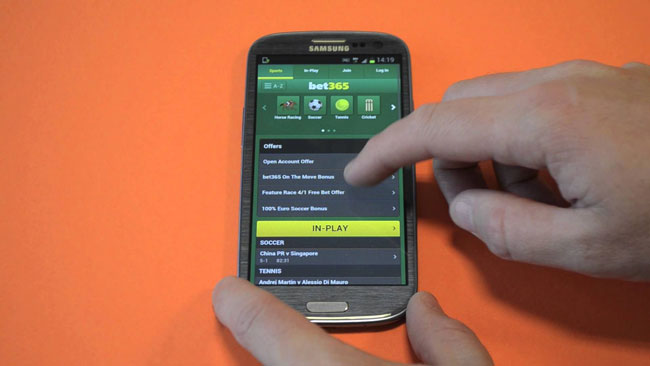 Bet365 Android App download
