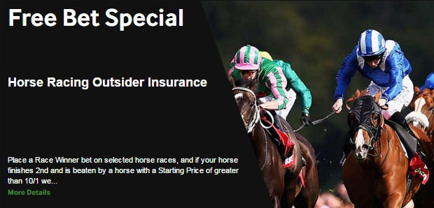 ​Betway Horse Racing Outsider Special Offer