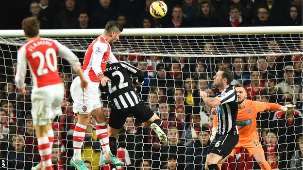 Arsenal - Newcastle United betting tips