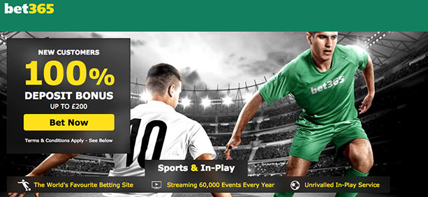 Bet365 football betting promotions