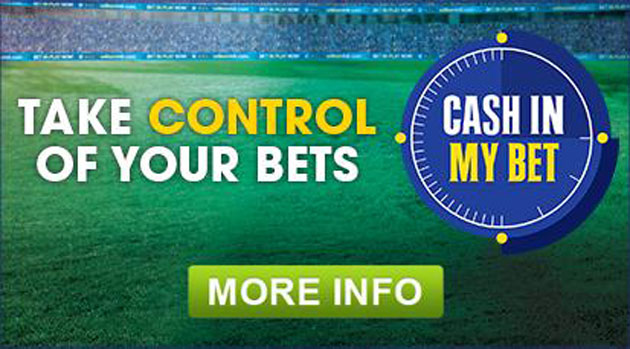 William Hill cash in my bet feature