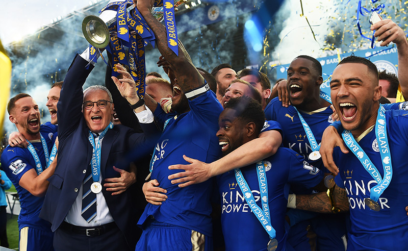 Leicester City 2015/16 Premier League betting stats and season review