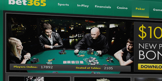 bet365 poker review - Sign-up bonus code and download