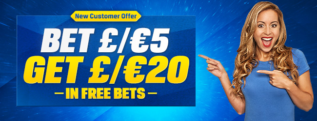 Coral Free Bet Offer - Bet £5 Get £20