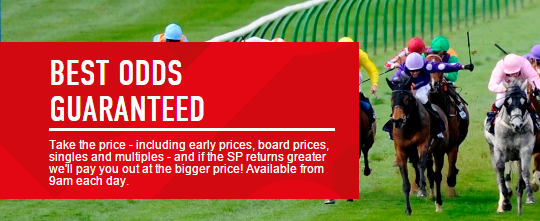 Ladbrokes - Horse Racing Best Odds Guaranteed
