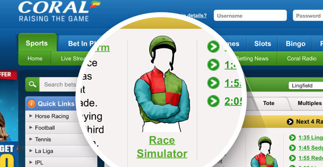 ​Coral Racecards Now Include the Racing App
