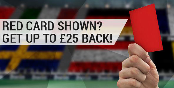 bwin Euro 2016 red card offer - Get up to £25