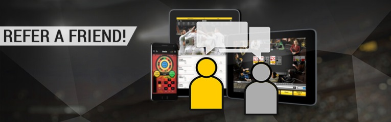b'friends - Bwin refer a friend