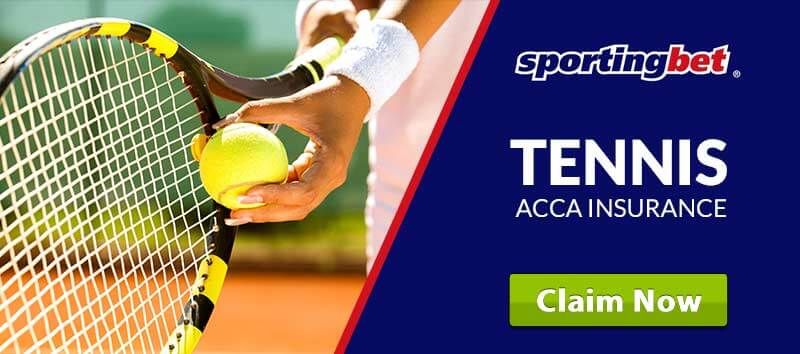 Sportingbet Tennis Acca Insurance
