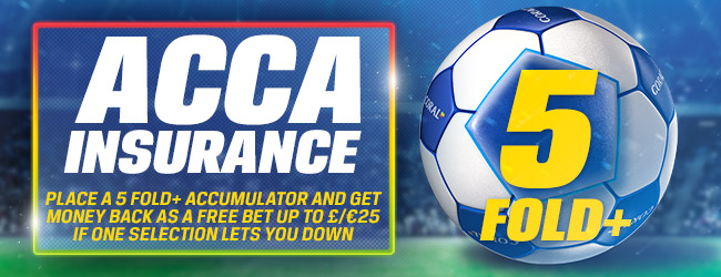 Coral Football Acca Insurance