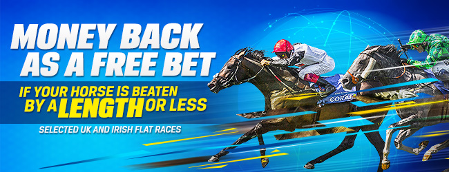 ​Coral Horse Racing Offer - Money Back If Beaten By A Length Or Less