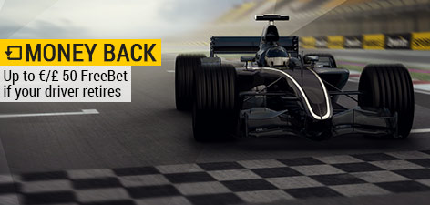 ​Bwin's Formula 1 Free Bet Offer