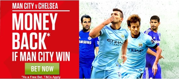 Manchester City - Chelsea money back offer