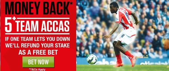 Ladbrokes Accumulator money back offer