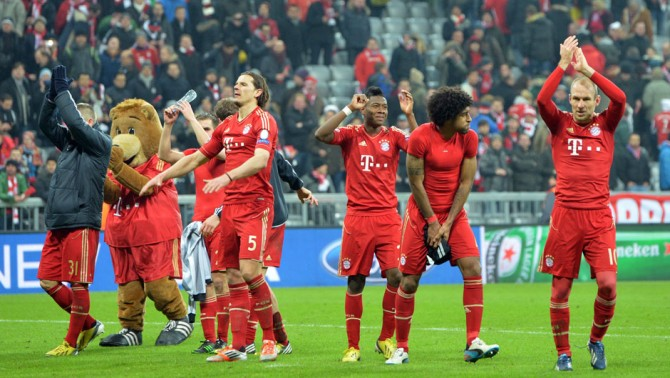 CSKA Moskva-Bayern München betting preview