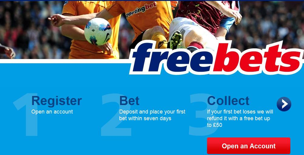 Sportingbet £50 Risk Free Bet