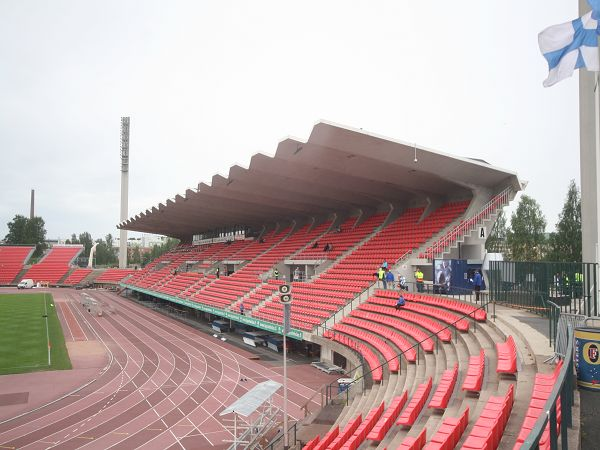 Ratinan Stadion Katsomokartta